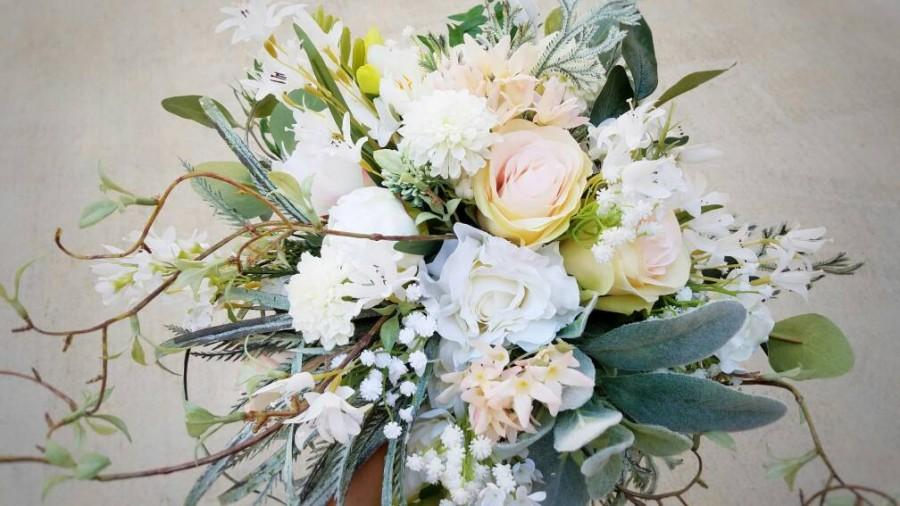 Mariage - Bridal Bouquets, Bridal Bouquet, Wedding Bouquets, Wedding Flowers, Artificial Wedding Bouquet, Bridal Flowers, Silk Flower Bouquet, Flowers