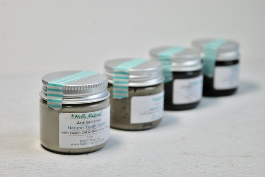 Mariage - Natural Toothpaste Sampler - Tooth Polish 1 oz set, Earth Paste, Trial Size, DE, Neem, Xylitol, Natural Tooth Paste, Oral Health, Organic