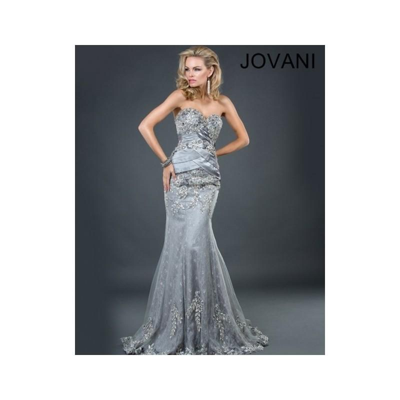 Mariage - Fashion 2014 New Style Cheap Long Prom/Party/Formal Jovani Dresses 1921 - Cheap Discount Evening Gowns