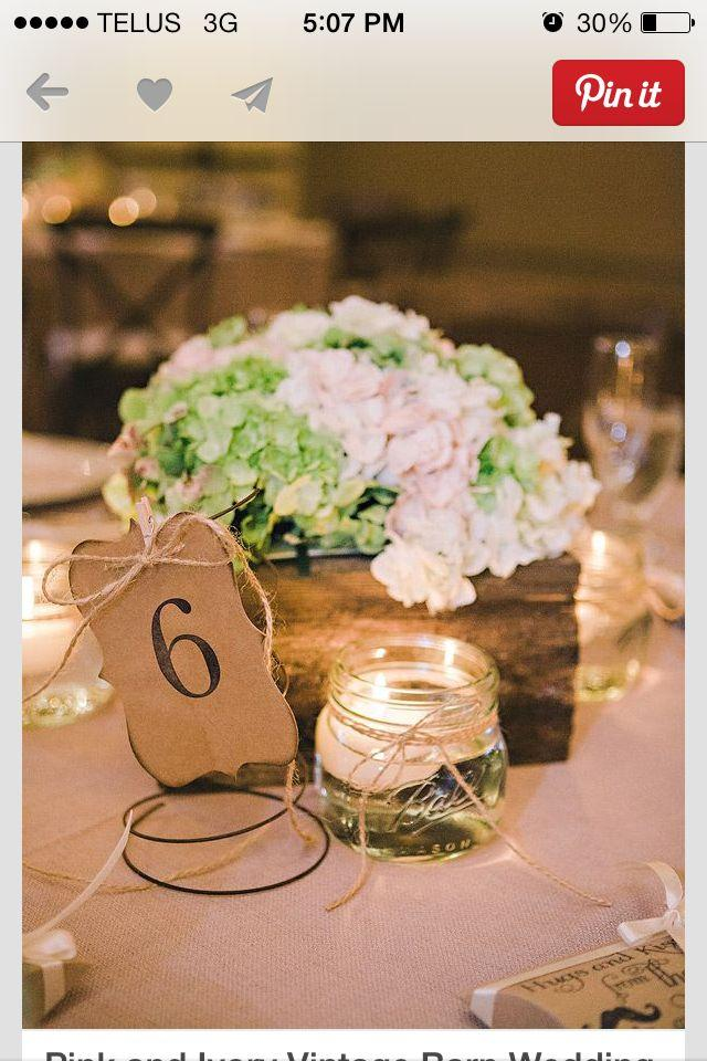Diy candle holders wedding