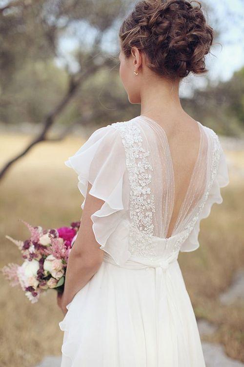 Wedding - Back Design Dress
