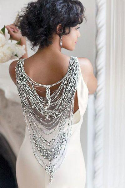 Wedding - Cinderella's Dream-Come-True! 23 Seriously Stunning Wedding Dresses With Crystal Beading