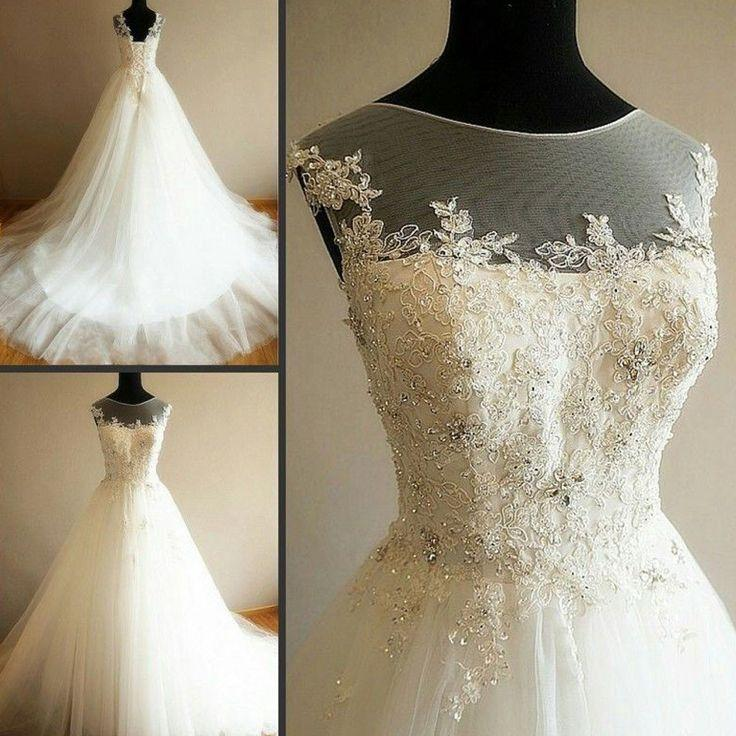 Wedding - Lace up Gown