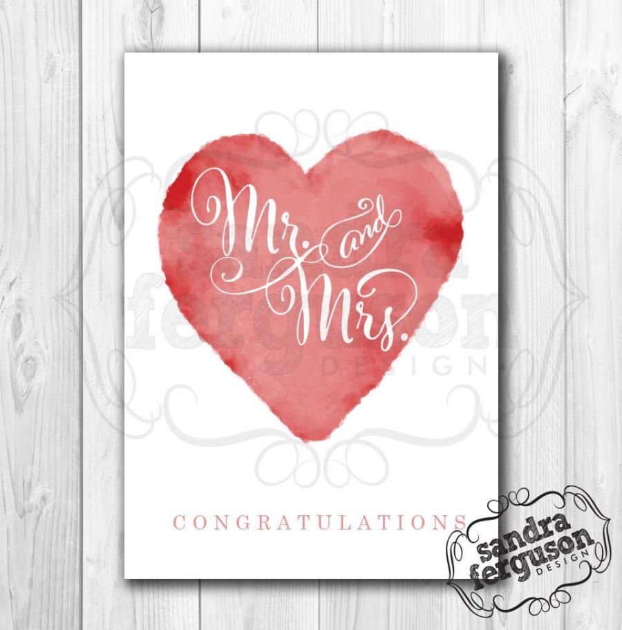 photo regarding Congratulations Card Printable known as 5X7 Printable \