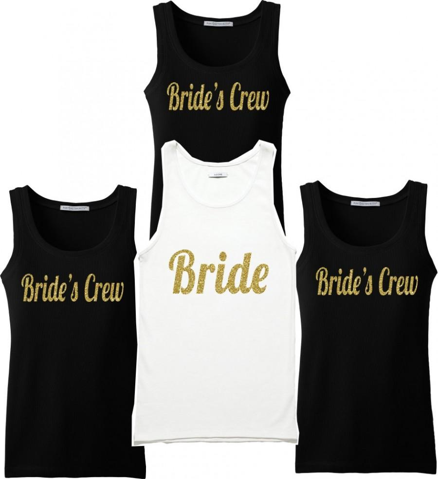 Wedding Bridesmaid T Shirts bridesmaid shirts set of t bridal party wedding bride maid honor shirts