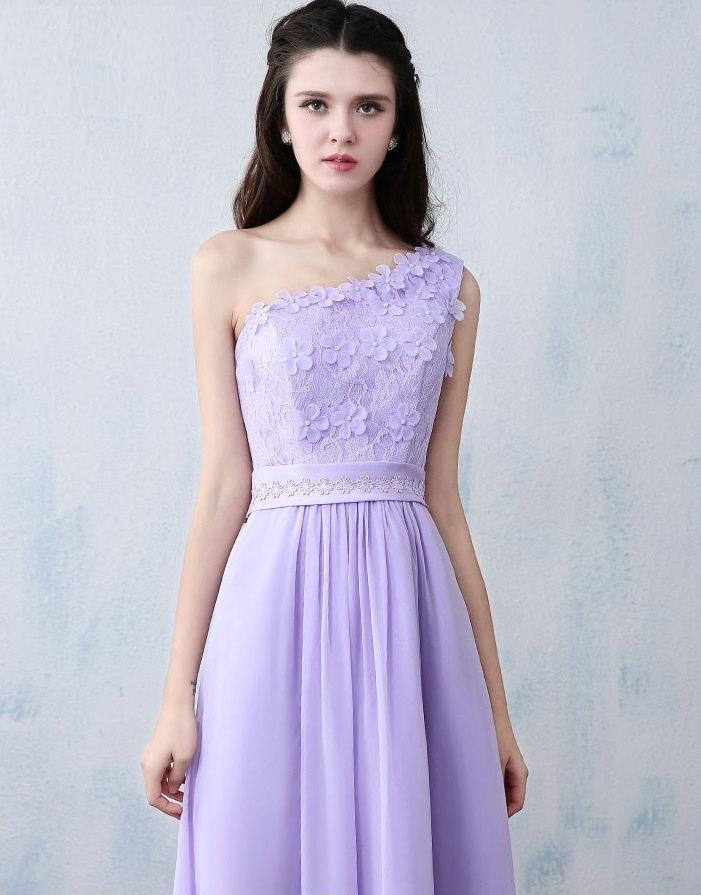 زفاف - Purple Lace Dress, Bridesmaid Long Dress, Prom Evening Dresses, Evening Gown, Wedding Dress