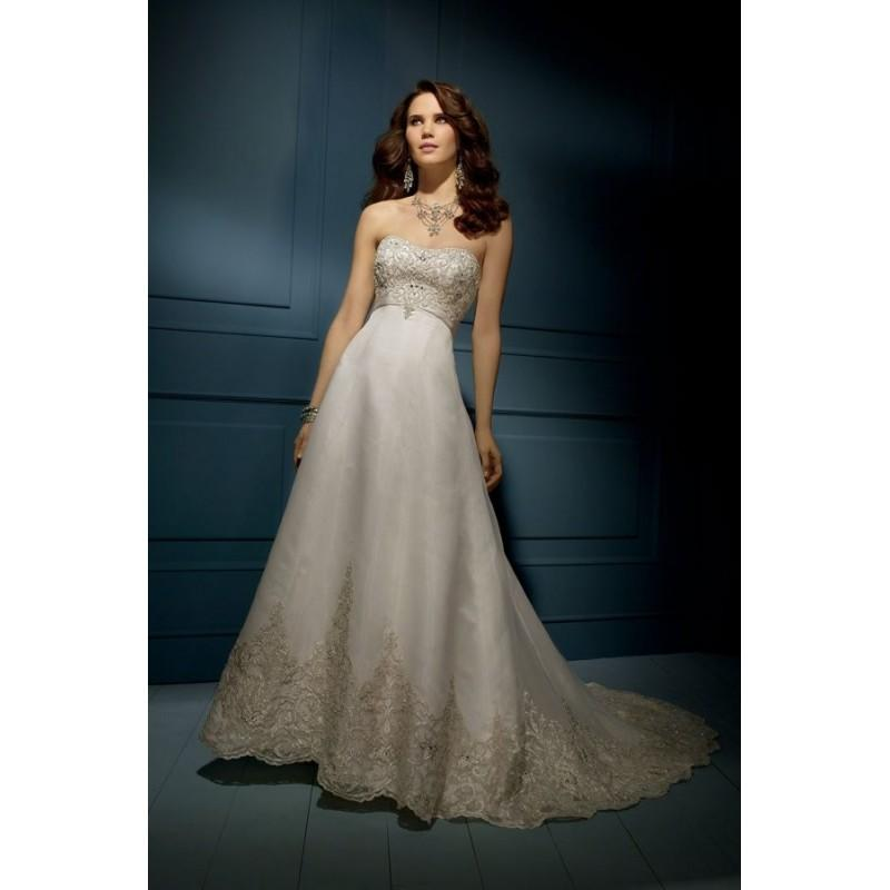 Wedding - Alfred Angelo Sapphire Style 848 - Fantastic Wedding Dresses