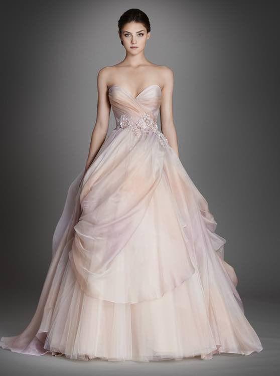 Hochzeit - Lazaro Wedding Dresses 2015 Collection Part I
