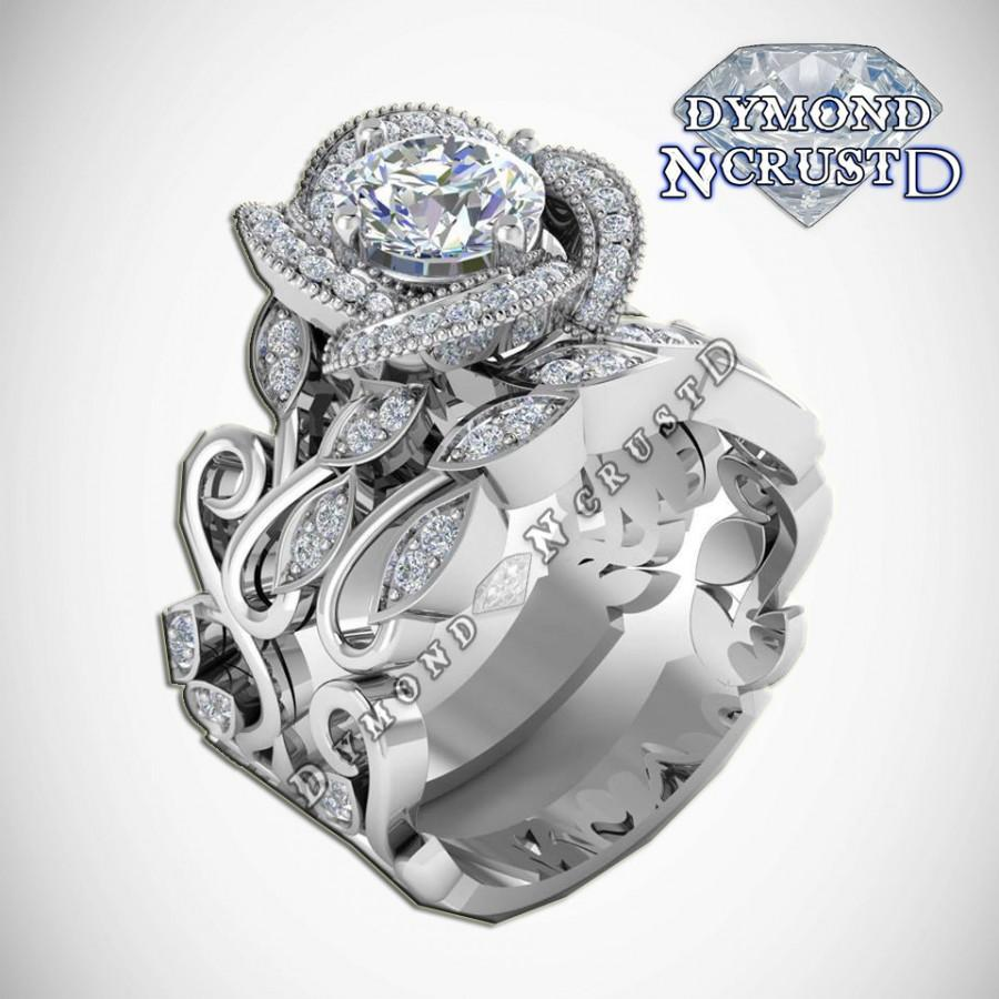 wedding title level engagement rose swirl portfolio ring header multilevel durham rings multi