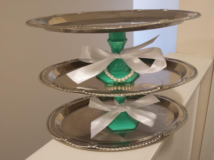 bridal shower centerpiecedecordecorationsbaby shower centerpieces decordecorationscupcake standdessert standshower decor3 tier stand