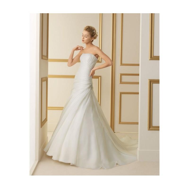 Wedding - Luna Novias Bridal Gowns Style 116 Tanzania - Compelling Wedding Dresses