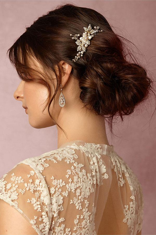 Wedding - Bhldn 2016 Bridal Headpieces : It's All in the Details
