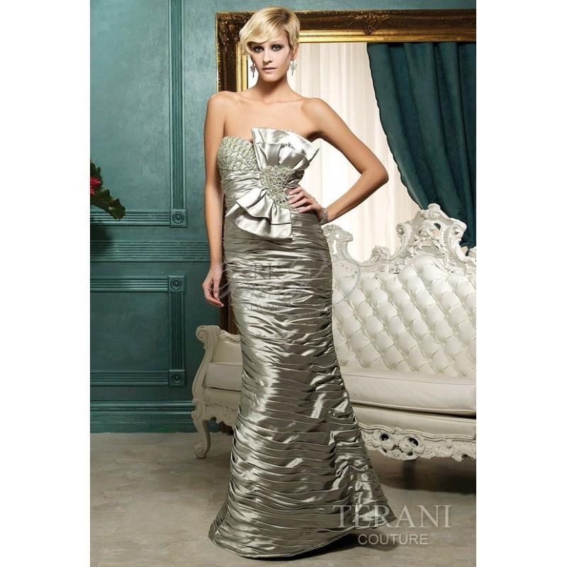 Terani couture style 95340e elegant wedding dresses for Terani couture wedding dress