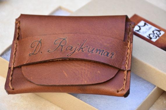 زفاف - Leather Wallet Leather Mens Wallet Leather Credit Card Wallet Groomsmen Gifts Personalized Wallet