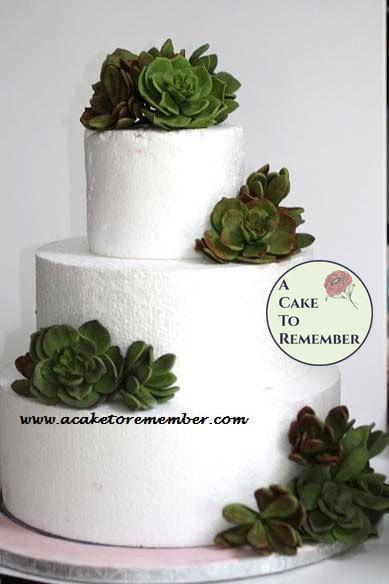 Gumpaste Succulent Cake Topper For Wedding Cakes Edible Succulents For Cakes Sugar Flowers