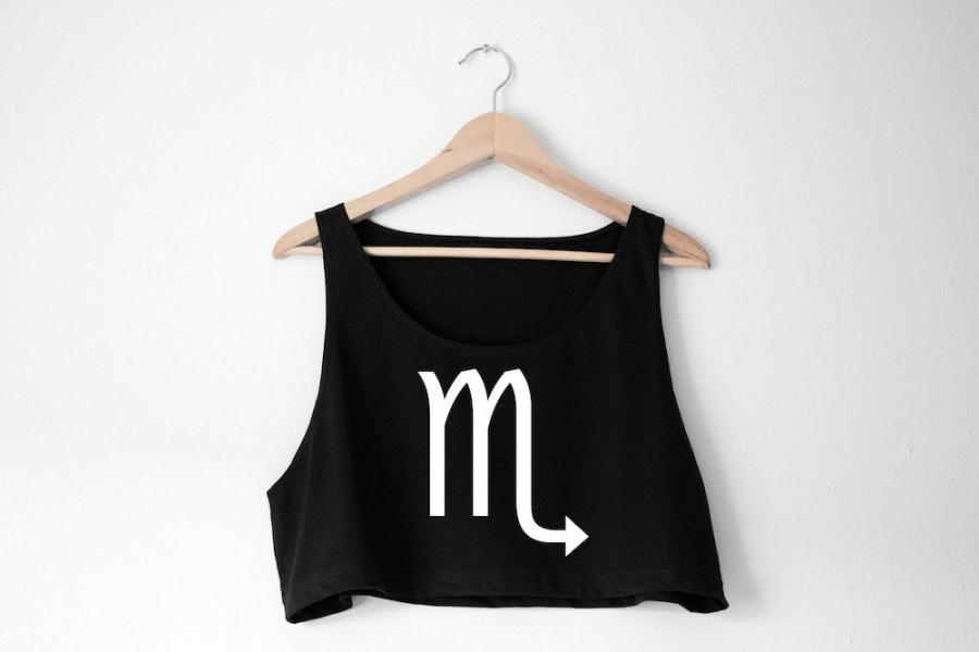 Mariage - Custom Zodiac Tank - Choose Color and Design - Made in USA by So Effing Cute