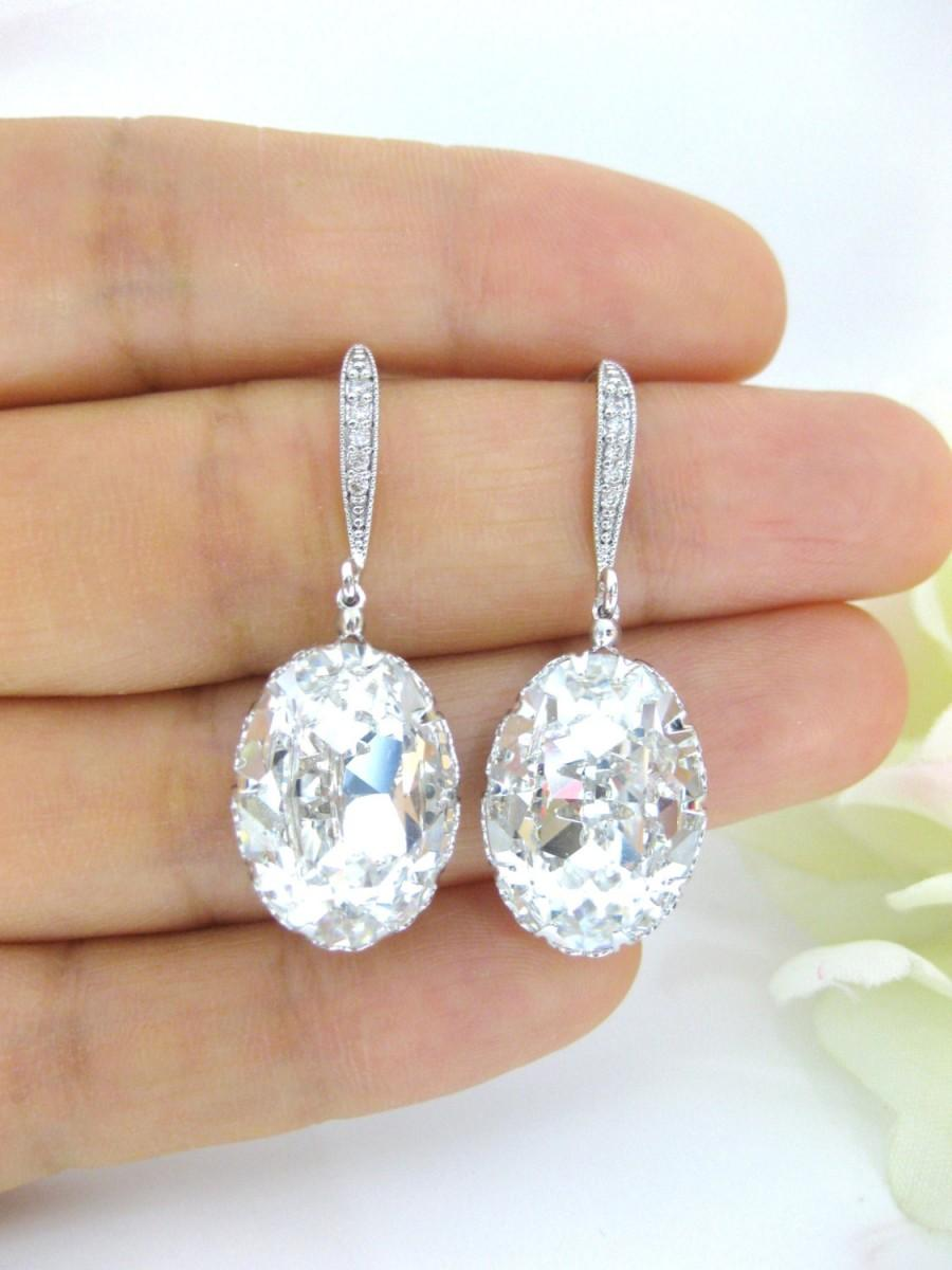 crystal operandi rich earrings three drop large loading moda by hoop white alessandra