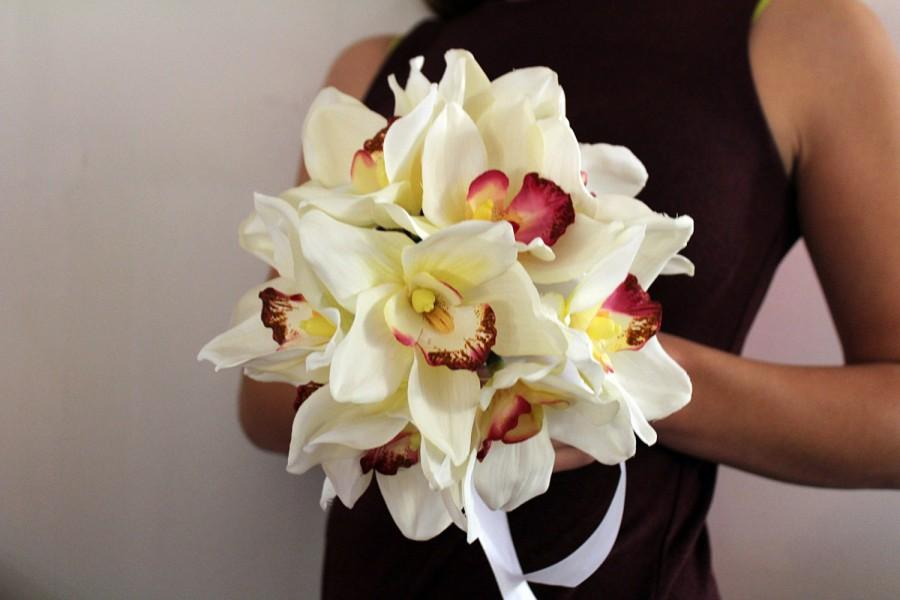 Gorgeous orchids wedding bouquet boutonniere bridal bouquet gorgeous orchids wedding bouquet boutonniere bridal bouquet bridesmaids bouquets real touch flowers silk flowers mightylinksfo