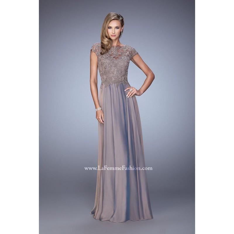 Wedding - La Femme Evening 21627 - Elegant Evening Dresses