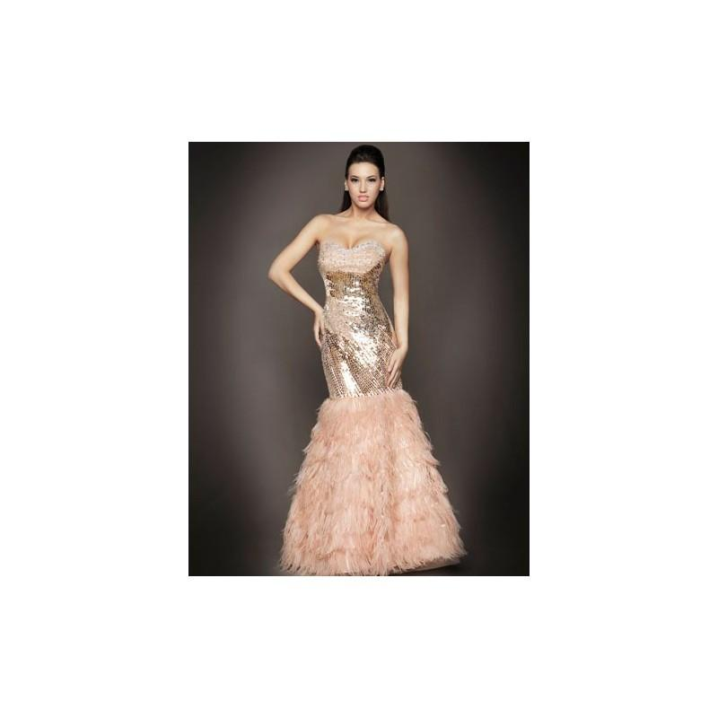 Свадьба - 1180D Mac Duggal Couture Nude/Silver Size: 2 IN STOCK - HyperDress.com
