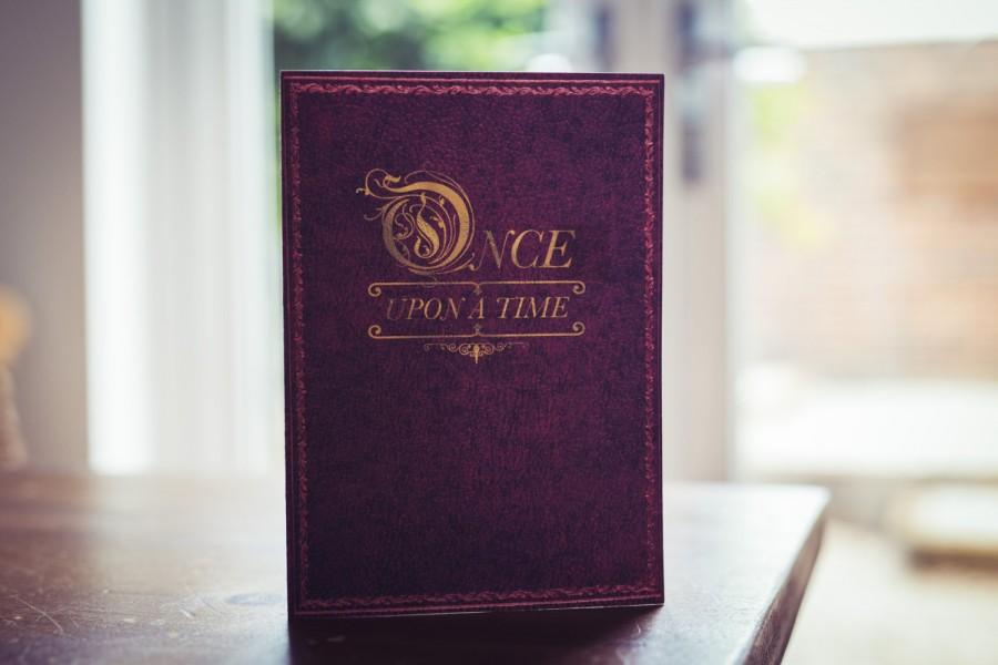 Wedding - Once Upon A Time Wedding Invite