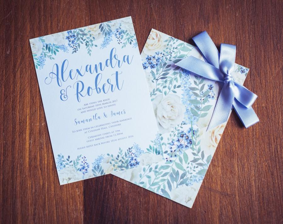 Свадьба - Wedding Invitation Pastel Bloom Suite
