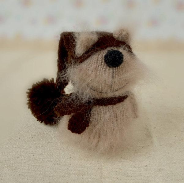 Siamese Cat Toy Knitted Miniature Cat Amigurumi Pet Animals Fluffy ... | 599x601