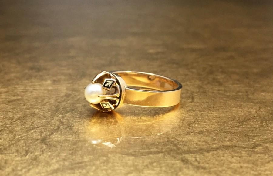Mariage - Pearl Wedding Ring