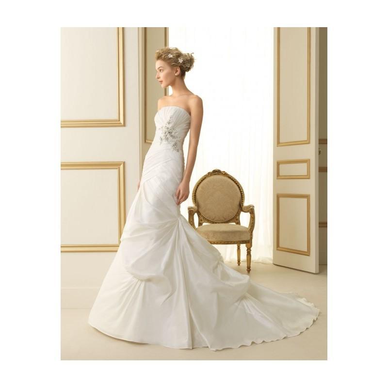 Wedding - Luna Novias Bridal Gowns Style 126 Tauro - Compelling Wedding Dresses