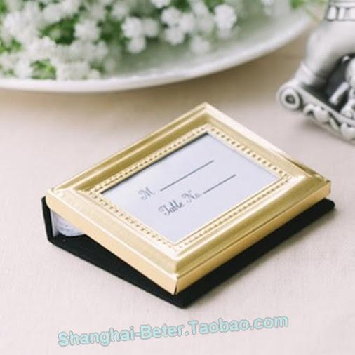 Wedding - Beter Gifts® 小清新 #小相框  #巴羅克 珠點 #回禮小相冊 BETER-XC006/B #婚禮佈置