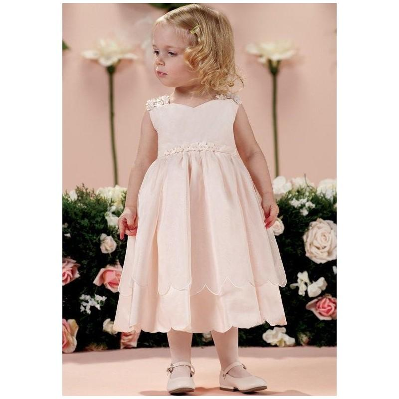 Mon Cheri Flower Girl Dresses: Joan Calabrese By Mon Cheri 114358B Flower Girl Dress