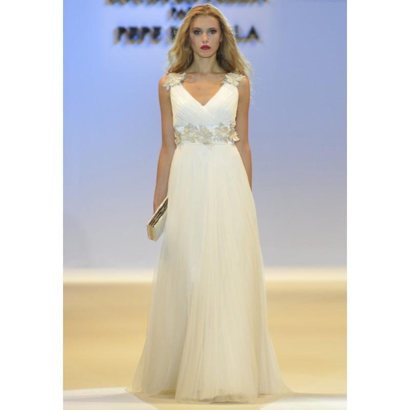 Wedding - 6125 - Lucía Botella para Pepe Botella (Pepe Botella) - Vestidos de novia 2016