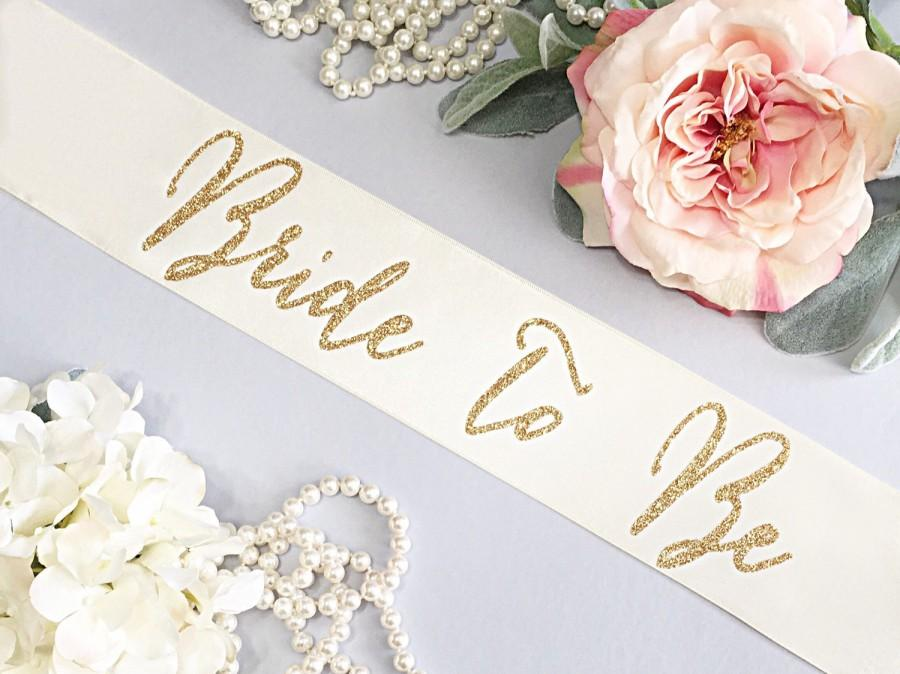 Свадьба - Bachelorette Sash - Bachelorette Party - Bride To Be Sash -  Bridal Shower - Gift For Bride