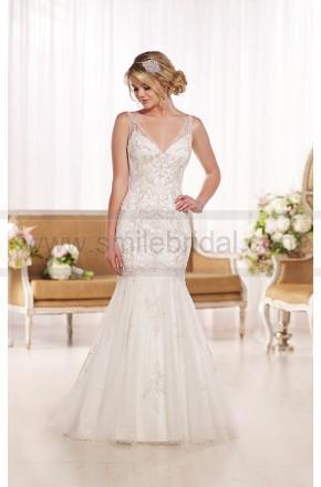 Hochzeit - Essense of Australia 1920S Wedding Dress Style D1741 - Essense Of Australia - Wedding Brands