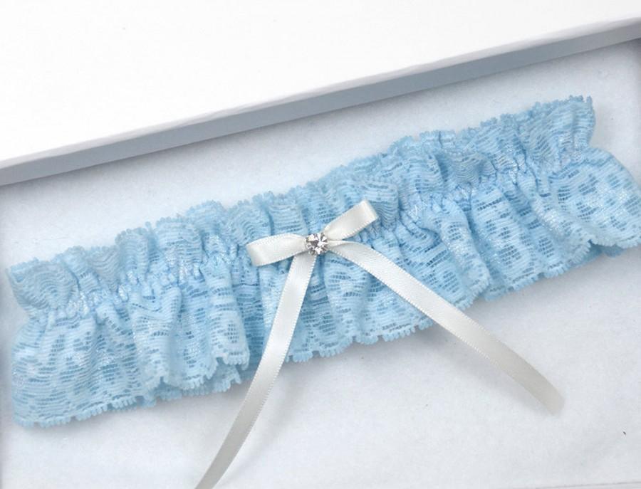 Свадьба - Blue Wedding Garter, Bridal Garter, Blue Garter, Wedding Garter, Blue Wedding Garter, Blue Lace Garter, Blue Garter, Something Blue