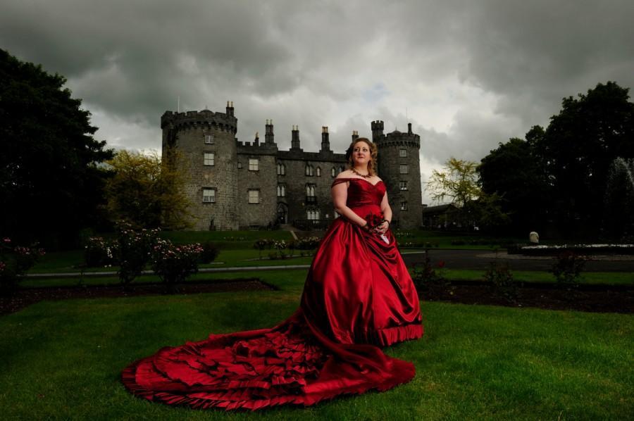 Mariage - Gothic Wedding Dress Ball Gown