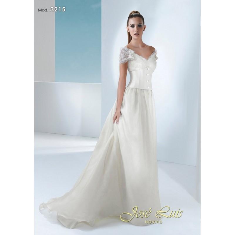 Свадьба - 3215 (José Luis Novias) - Vestidos de novia 2016