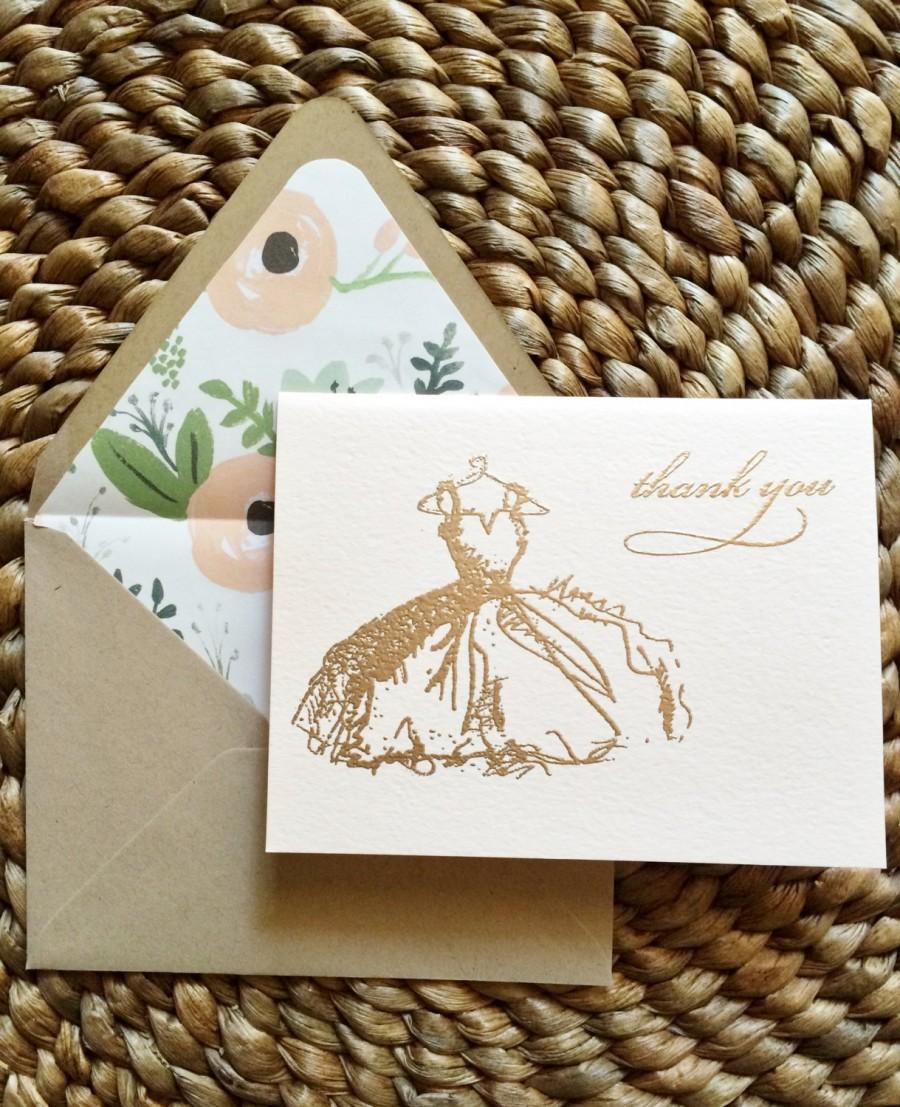 Mariage - Bridal Shower Thank You Cards