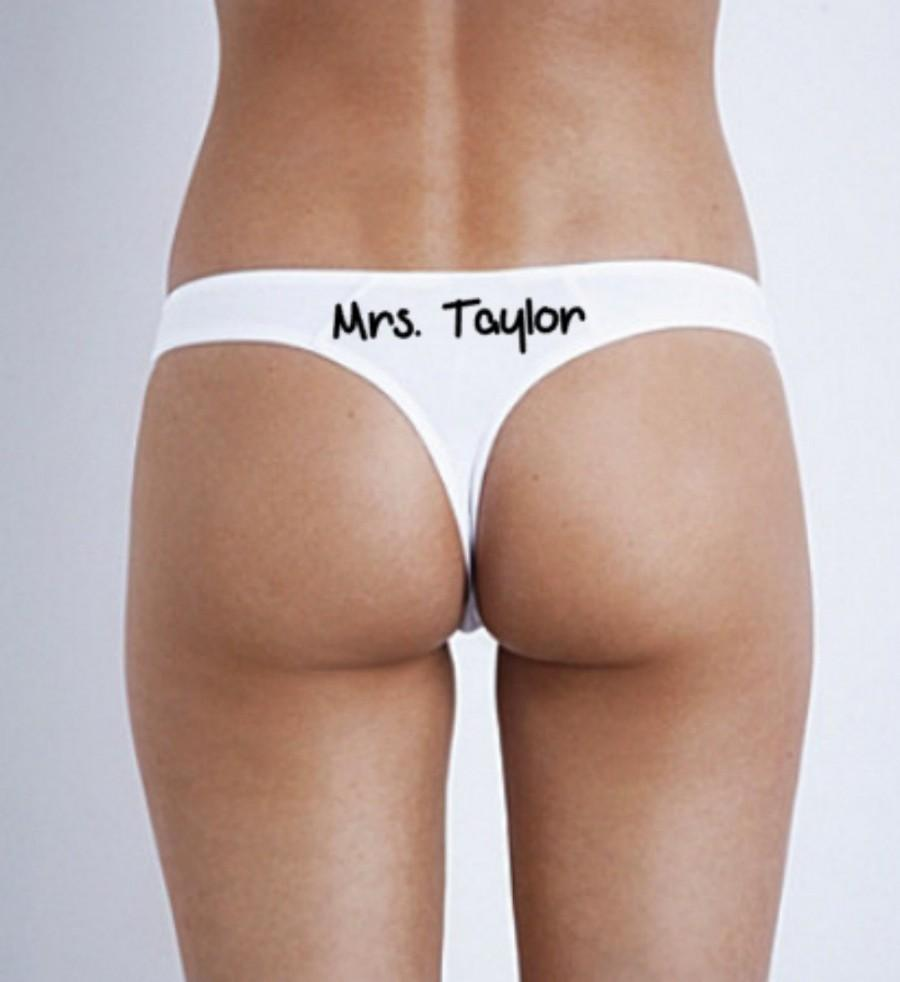 3c4c4b0e7 Personalized Bridal Thong