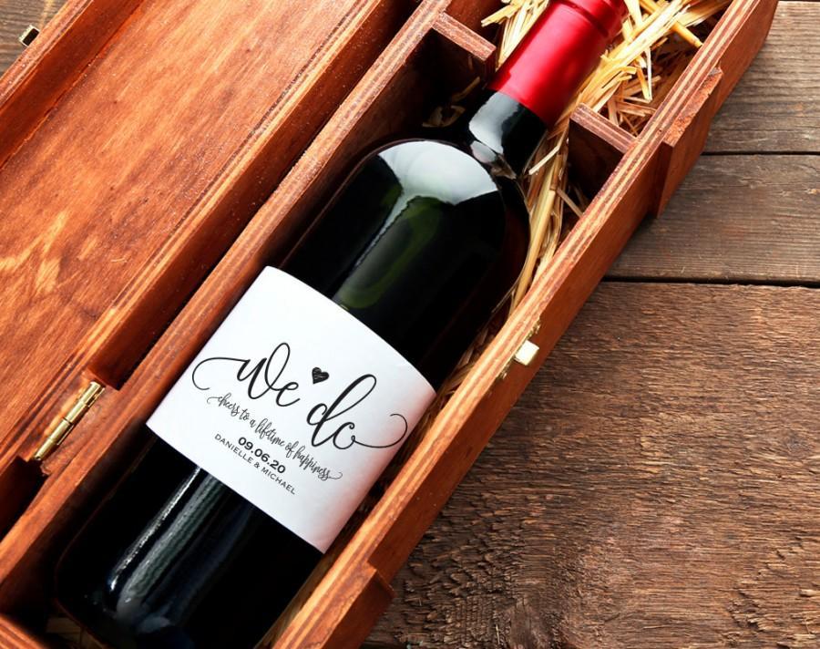 Mariage - Wedding Wine Labels, Wedding Wine Bottle Labels, Wine Label Printable, Wine Label Template, Wedding, DIY, PDF Instant Download