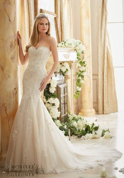Свадьба - Mori Lee - 2886 - All Dressed Up, Bridal Gown