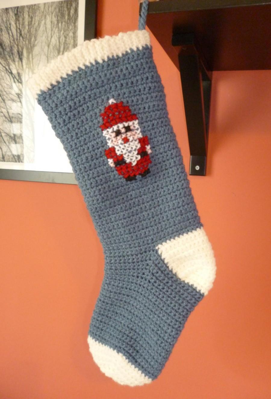 Hochzeit - Christmas stockings/ Large xmas stockings/ Christmas decoration/ Xmas decor/ Xmas Santa/ Santa stockings/ Xmas sock