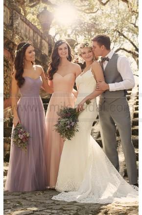 Wedding - Essense of Australia Sexy Lace Wedding Dress Style D1934 - Essense Of Australia - Wedding Brands