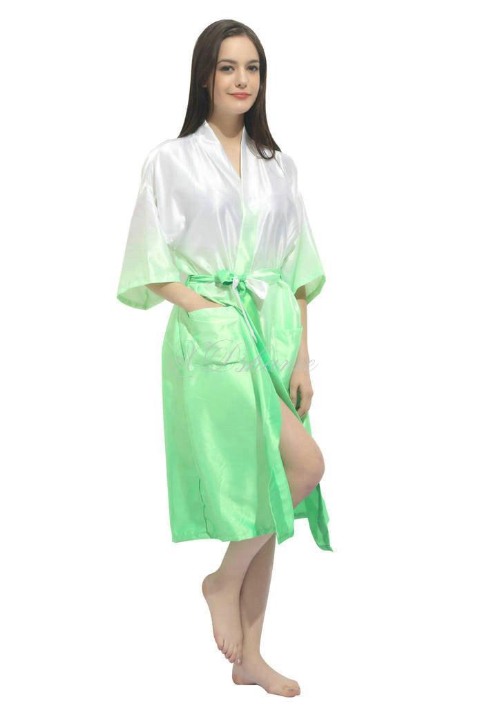 Свадьба - Kimono satin robes Bridesmaid robe gift giftes Bridesmaid Robes Bridal Shower Getting ready robes Bridal Party Robes Dressing