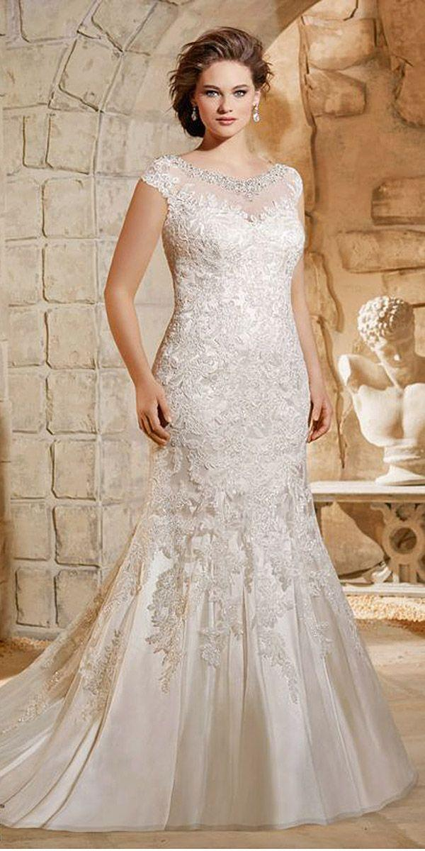 Mariage - 24 Plus-Size Wedding Dresses: A Jaw-Dropping Guide