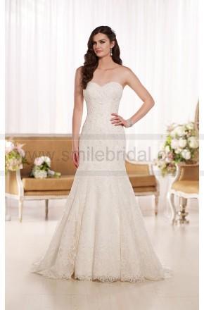 Mariage - Essense of Australia Lace Wedding Dresses Style D1768 - Essense Of Australia - Wedding Brands