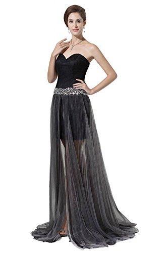 Boda - Angelia Bridal Women's Beaded Sweetheart Formal Prom Evening Dresses