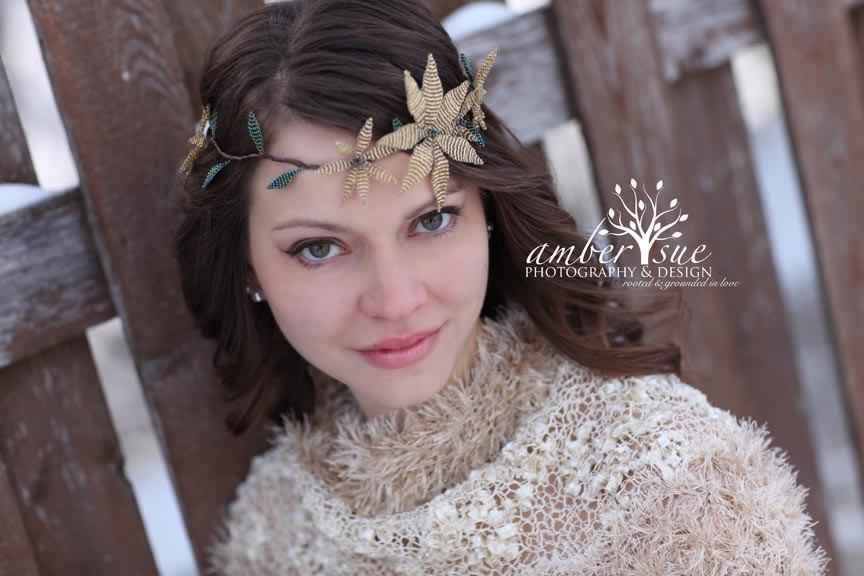 Wedding - Gold Wedding Crown - Gold Color Bridal Tiara - Bridal Headband - Wedding Crown