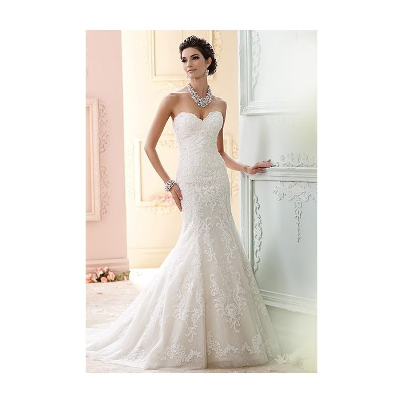 David Tutera For Mon Cheri 215274 Cass Stunning Cheap Wedding