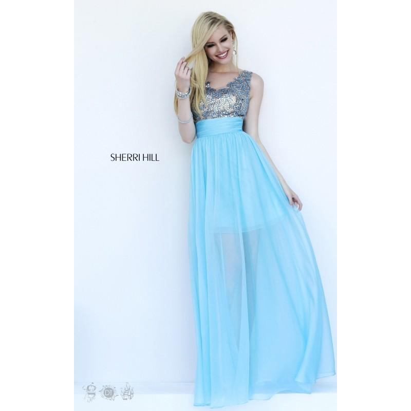 Wedding - Sherri Hill - 1945 - Elegant Evening Dresses